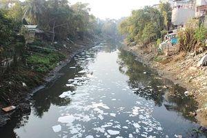 Hà Nội tồn đọng 1.798 vụ xả thải trái phép vào công trình thủy lợi