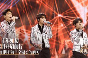 Tại đêm hội Weibo 2019, TFBOYS biểu diễn lại những ca khúc đã từng làm nên lịch sử