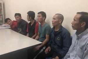 Nghệ An: Bắt 6 đối tượng truy nã về quy án
