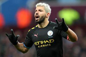 Aguero lập nhiều kỷ lục sau hat-trick giúp Man City thắng 6-1