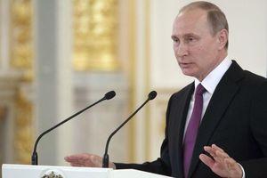 Tổng thống Nga Putin công bố thông tin quan trọng