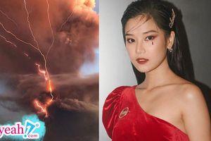 Hoàng Yến Chibi mắc kẹt tại Philippines chưa thể về Việt Nam vì núi lửa phun trào