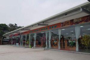 Hòa Bình: Công ty Hoàng Sơn ngang nhiên xây dựng siêu thị không phép