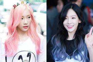 Màu tóc nào của Taeyeon cũng đẹp, khiến fan muốn nhuộm theo