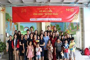 Tập đoàn giáo dục Nguyễn Hoàng mang xuân đến với trẻ em mồ côi, cụ già neo đơn