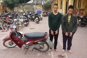Hai anh em ruột cướp xe ôm sa lưới sau 4 ngày lẩn trốn