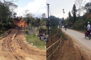 Hà Giang: Chính quyền địa phương 'im lặng' trước tình trạng khai thác đất trái phép để nới rộng nghĩa trang?