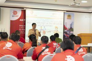 CSGT tổ chức buổi tập huấn cho tài xế công nghệ