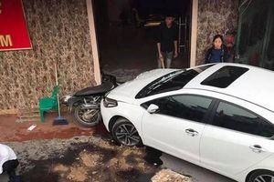 Tài xế say rượu, gây tai nạn ở Hà Nội