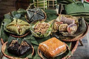 Bánh chưng đen, bánh chưng nhân cá... độc lạ dịp Tết Canh Tý