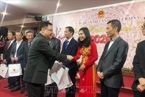 Đại sứ quán Việt Nam tại Ukraine tổ chức mừng xuân Canh Tý