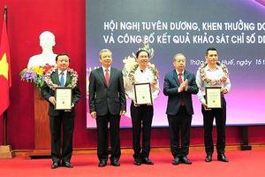 Thừa Thiên Huế: Công bố kết quả năng lực cạnh tranh năm 2019