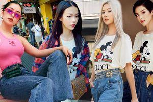 Áo phông Mickey 'thống trị' street style sao Việt tuần qua
