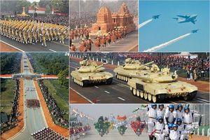 Ấn Độ diễu binh quy mô lớn kỷ niệm ngày Quân đội