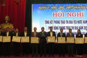 71 tập thể, cá nhân huyện Phú Xuyên được Chủ tịch UBND TP khen thưởng