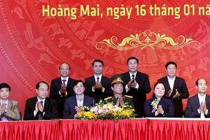 Quận Hoàng Mai phát động phong trào thi đua năm 2020
