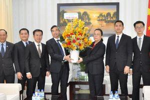 Lãnh đạo thành phố chúc Tết Tổng Lãnh sự quán Trung Quốc tại Đà Nẵng