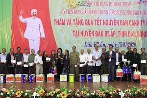 Phó Chủ tịch nước Đặng Thị Ngọc Thịnh thăm và chúc Tết tại tỉnh Đắk Nông