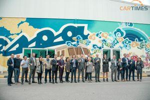 Piaggio Việt Nam ra mắt bức tranh tường với nét văn hóa kết hợp giữa Ý - Việt Nam