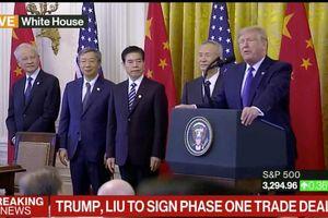 Mỹ - Trung công bố chi tiết thỏa thuận thương mại 'giai đoạn một'