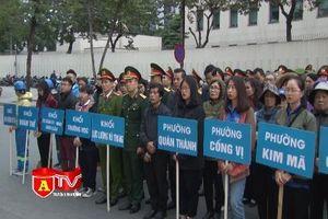 Quận Ba Đình ra quân lập lại trật tự đô thị đón chào năm mới