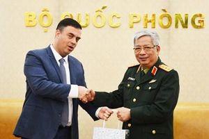 Thượng tướng Nguyễn Chí Vịnh tiếp Đại sứ Israel tại Việt Nam