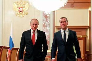 Cựu thủ tướng Nga Medvedev giữ chức Phó chủ tịch Hội đồng An ninh