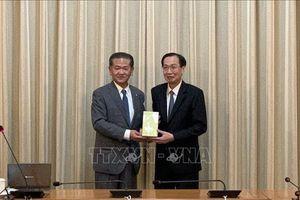 Lãnh đạo TP Hồ Chí Minh tiếp Thị trưởng thành phố Yatsushiro, Nhật Bản