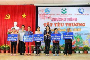 Phó Chủ tịch nước dự Chương trình 'Tết yêu thương' tại Vĩnh Long