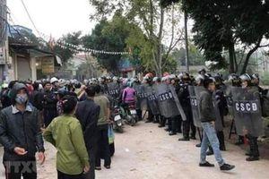 Vụ Đồng Tâm: Bộ Công an đã phong tỏa 1 tài khoản tại ngân hàng Vietcombank