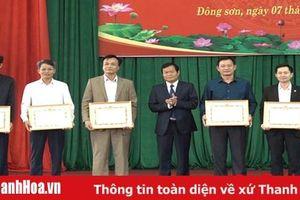 Đảng bộ huyện Đông Sơn chú trọng việc đánh giá, xếp loại chất lượng tổ chức đảng, đảng viên