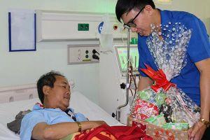 Trao 250 phần quà Tết cho bệnh nhân