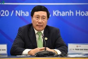 Các Bộ trưởng Ngoại giao ASEAN trao đổi thẳng thắn về Biển Đông