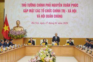 Thủ tướng Nguyễn Xuân Phúc: Dân vận là từ trái tim tới trái tim