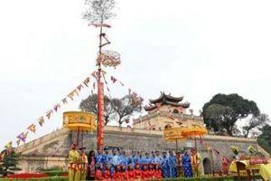 Thực hành nghi lễ 'Tống cựu nghinh Tân' tại Hoàng thành Thăng Long