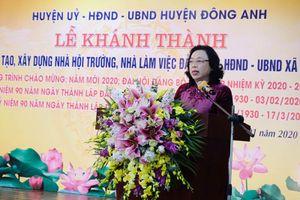 Phó Bí thư Thường trực Thành ủy Ngô Thị Thanh Hằng: Xây dựng nông thôn mới góp phần thay đổi cuộc sống người dân