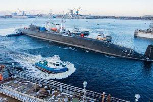 Cận cảnh tàu ngầm hạt nhân mới nhất của Nga: Cái gai trong mắt Mỹ