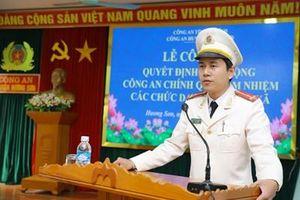 Công an chính quy đảm nhiệm chức danh Công an xã ở 24/25 xã, thị trấn huyện Hương Sơn