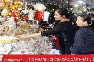 Sức mua hàng Tết ở Hà Tĩnh tăng nhanh từng ngày!