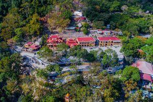 Khu du lịch núi Bà Đen tuyệt đẹp trong bộ ảnh từ trên cao