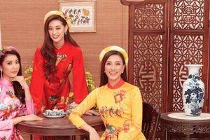 Top 3 Hoa hậu Hoàn vũ Việt Nam xinh lung linh với bộ ảnh chúc Tết
