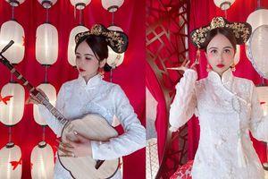 Vợ hai đại gia Minh Nhựa bị chê 'đơ như tượng' khi hóa thân thành 'mỹ nhân' Trung Hoa