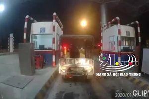 Xe ba gác 'ngang nhiên' vào cao tốc Hà Nội - Hải Phòng nhận kết đắng