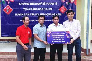VOV miền Trung trao 200 suất quà Tết tặng đồng bào dân tộc thiểu số
