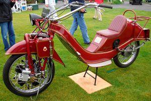 Loạt xe máy kỳ dị nhất thế giới