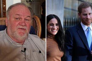 Cha của Meghan cho rằng con gái làm 'mất giá' Hoàng gia Anh