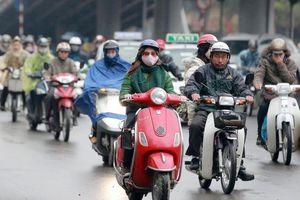 Không khí lạnh tăng cường gây mưa, rét ở Bắc Bộ