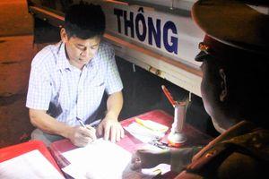 Thêm một lái xe ở Đắk Lắk bị phạt 35 triệu đồng do vi phạm nồng độ cồn