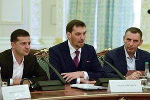 Tổng thống Ukraine không chấp nhận đơn từ chức của Thủ tướng Goncharuk