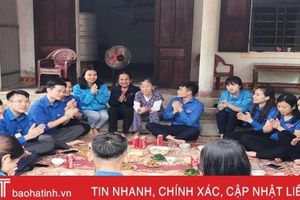 Ấm áp chương trình 'Mừng xuân - ơn Đảng' của tuổi trẻ Hà Tĩnh